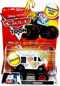 Disney / Pixar CARS TOON 1:55 Die Cast Car Oversized Vehicle I-Screamer