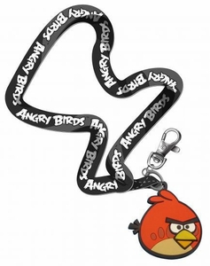 Angry Birds Lanyard Keychain Red Bird