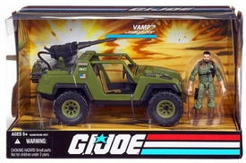 GI Joe 25th Anniversary Vehicle VAMP with Double Clutch Action Figure
