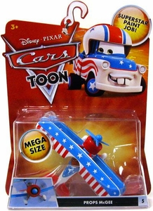 Disney / Pixar CARS TOON 1:55 Die Cast Car Oversized Vehicle Props McGee
