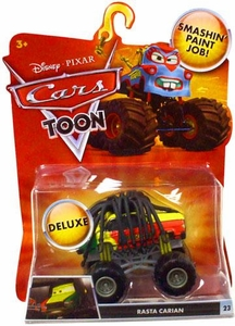 Disney / Pixar CARS TOON 1:55 Die Cast Car Oversized Vehicle Rasta Carian