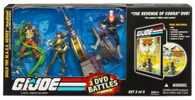 GI Joe Hasbro 25th Anniversary DVD Battle Pack Revenge of Cobra [Set 2 of 5]