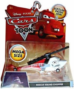 Disney / Pixar CARS TOON 1:55 Die Cast Car Oversized Vehicle Rescue Squad Chopper