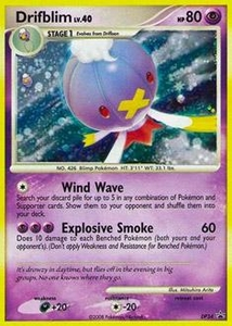 Pokemon Card Game DP Diamond & Pearl Promos Single Card Promo #34 Drifblim