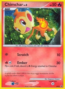 Pokemon Card Game DP Diamond & Pearl Promos Single Card Promo #DP02 Chimchar