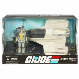 GI Joe 25th Anniversary Vehicle Sharc Tooth with Deep Six Action Figure