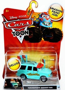 Disney / Pixar CARS TOON 1:55 Die Cast Car Oversized Vehicle Tormentor's Biggest Fan