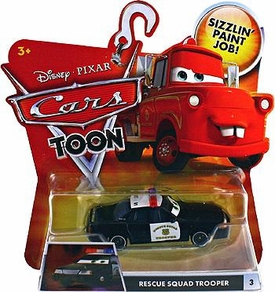 Disney / Pixar CARS TOON 1:55 Die Cast Car Rescue Squad Trooper