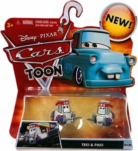 Disney / Pixar CARS TOON 1:55 Die Cast Car Teki & Paki