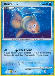 Pokemon Card Game DP Diamond & Pearl Promos Single Card Promo #DP13 Buizel