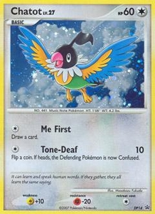 Pokemon Card Game DP Diamond & Pearl Promos Single Card Promo #DP14 Chatot