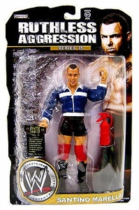 WWE Wrestling Ruthless Aggression Series 35 Action Figure Santino Marella