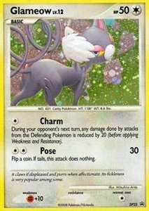 Pokemon Card Game DP Diamond & Pearl Promos Single Card Promo #DP23 Glameow BLOWOUT SALE!