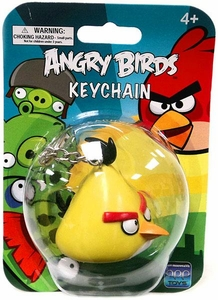 Angry Birds Figurine Keychain Yellow Bird