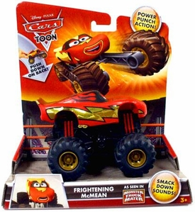 Disney / Pixar CARS TOON Monster Truck Frightening McMean [Power Punch Action!]