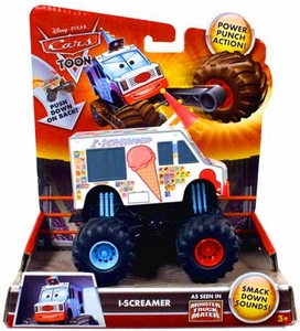 Disney / Pixar CARS TOON Monster Truck I-Screamer [Power Punch Action!]