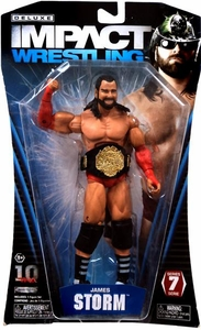 TNA Wrestling Deluxe Impact Series 7 Action Figure James Storm