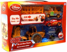 Disney / Pixar Cars Tip & Race Playset