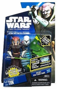 Star Wars 2011 Clone Wars Action Figure CW No. 54 Saesee Tiin