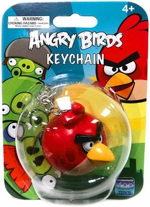 Angry Birds Figurine Keychain Red Bird
