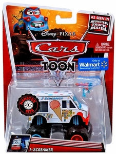 Disney / Pixar CARS TOON Exclusive 1:55 Die Cast Car Oversized Vehicle I-Screamer