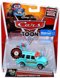Disney / Pixar CARS TOON Exclusive 1:55 Die Cast Car Oversized Vehicle Tormentor's Biggest Fan