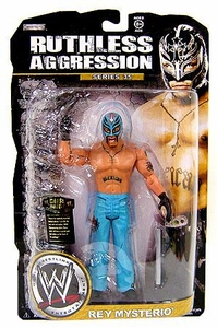 WWE Wrestling Ruthless Aggression Series 35 Action Figure Rey Mysterio