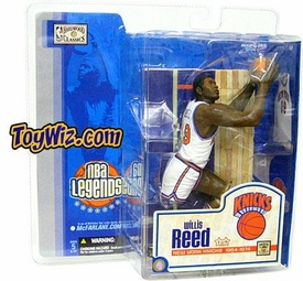 McFarlane Toys NBA Sports Picks Legends Series 1 Action Figure Willis Reed (New York Knicks) White Jersey