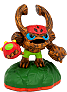 Skylanders Giants SIDEKICKS Exclusive Figure Barkley [Comes in Original Baggie!]