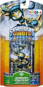 Skylanders Giants Figure Pack LEGENDARY Stealth Elf BLOWOUT SALE!
