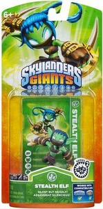 Skylanders Giants Figure Pack Stealth Elf 2 BLOWOUT SALE!