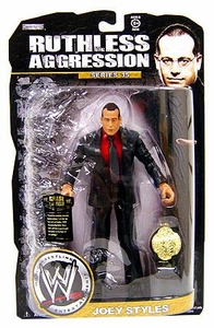 WWE Wrestling Ruthless Aggression Series 35 Action Figure Joey Styles