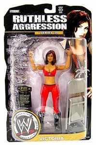 WWE Wrestling Ruthless Aggression Series 35 Action Figure Victoria