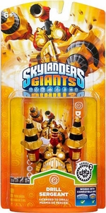 Skylanders Giants Figure Pack Drill Sergeant 2 BLOWOUT SALE!