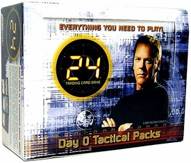 24 Trading Card Game Day 0 Tactical Booster BOX (12 Packs)