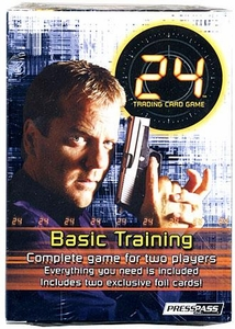 24 Trading Card Game 2-Player Starter Deck Set Basic Training BLOWOUT SALE!
