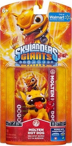Skylanders Giants Exclusive Figure Pack MOLTEN Hot Dog