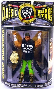 WWE Wrestling Classic Superstars Series 17 Action Figure Eddie Guerrero