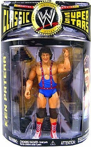 WWE Wrestling Classic Superstars Series 17 Action Figure Ken Patera