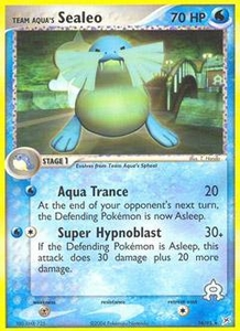 Pokemon Card Game EX Team Aqua-Team Magma Single Card Rare #16 Team Aqua's Sealeo