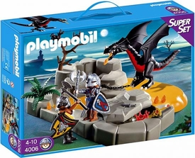 Playmobil Dragon Land Set #4006 Super Set Dragon`s Lair