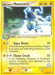 Pokemon Card Game EX Team Aqua-Team Magma Single Card Uncommon #29 Team Aqua's Manectric