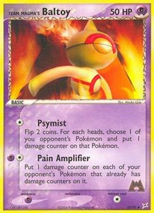 Pokemon Card Game EX Team Aqua-Team Magma Single Card Uncommon #32 Team Magma's Baltoy