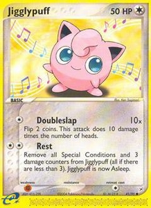 Pokemon Card Game EX Team Aqua-Team Magma Single Card Common #41 Jigglypuff