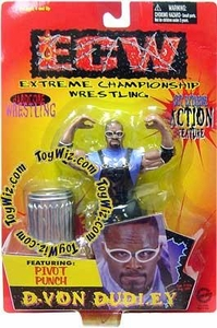 ECW Extreme Championship Wrestling Toymakers Action Figure D-Von Dudley