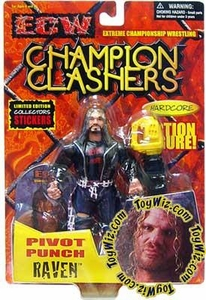 ECW Extreme Championship Wrestling Toymakers Action Figure Raven