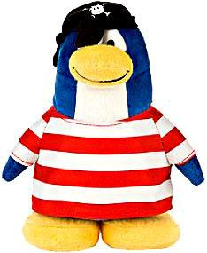 Disney Club Penguin 6.5 Inch Plush Figure Shipmate [NO COIN CODE!]