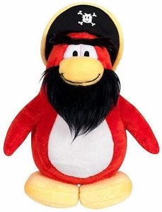 Disney Club Penguin 6.5 Inch Series 14 Plush Figure Rockhopper [Includes Coin with Code!]