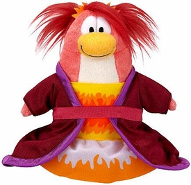 Disney Club Penguin 6.5 Inch Series 14 Plush Figure Phoenix Dress [Includes Coin with Code!]