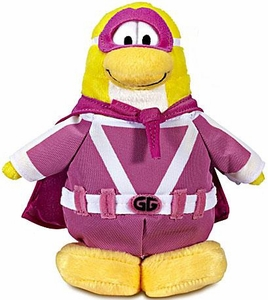 Disney Club Penguin 6.5 Inch Series 12 Plush Figure Gamma Gal [Includes Coin with Code!]